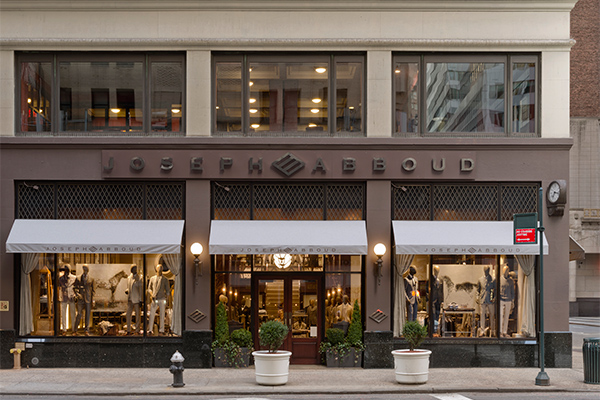 JHA Designs Joseph Abboud's Inaugural Flagship New York City Store