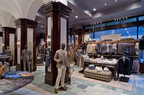 Joseph Abboud Flagship Store by Jeffrey Hutchison & Associates