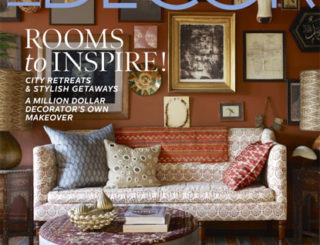 Elle Decor December 2012 Cover