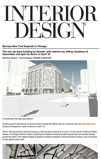 JHA: Press: Interior Design Magazine