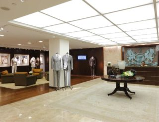jeffrey hutchison associates HMX Menswear Showroom