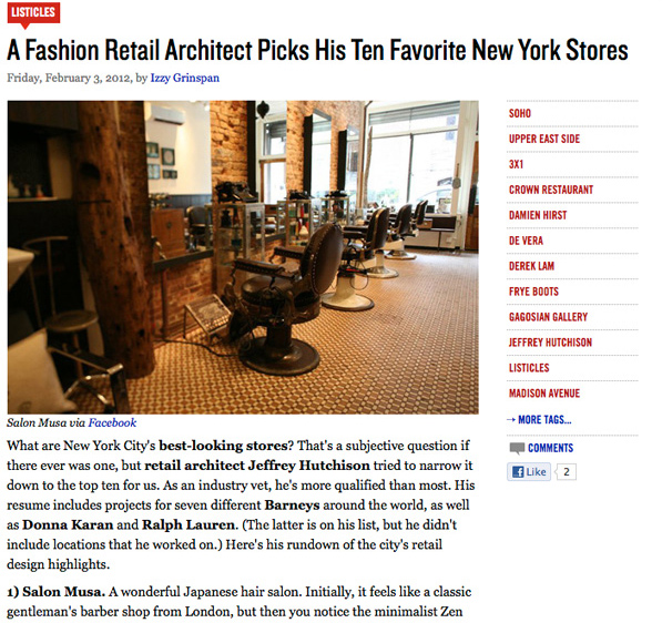 Racked NY Jeffrey Hutchinson Favorite Stores