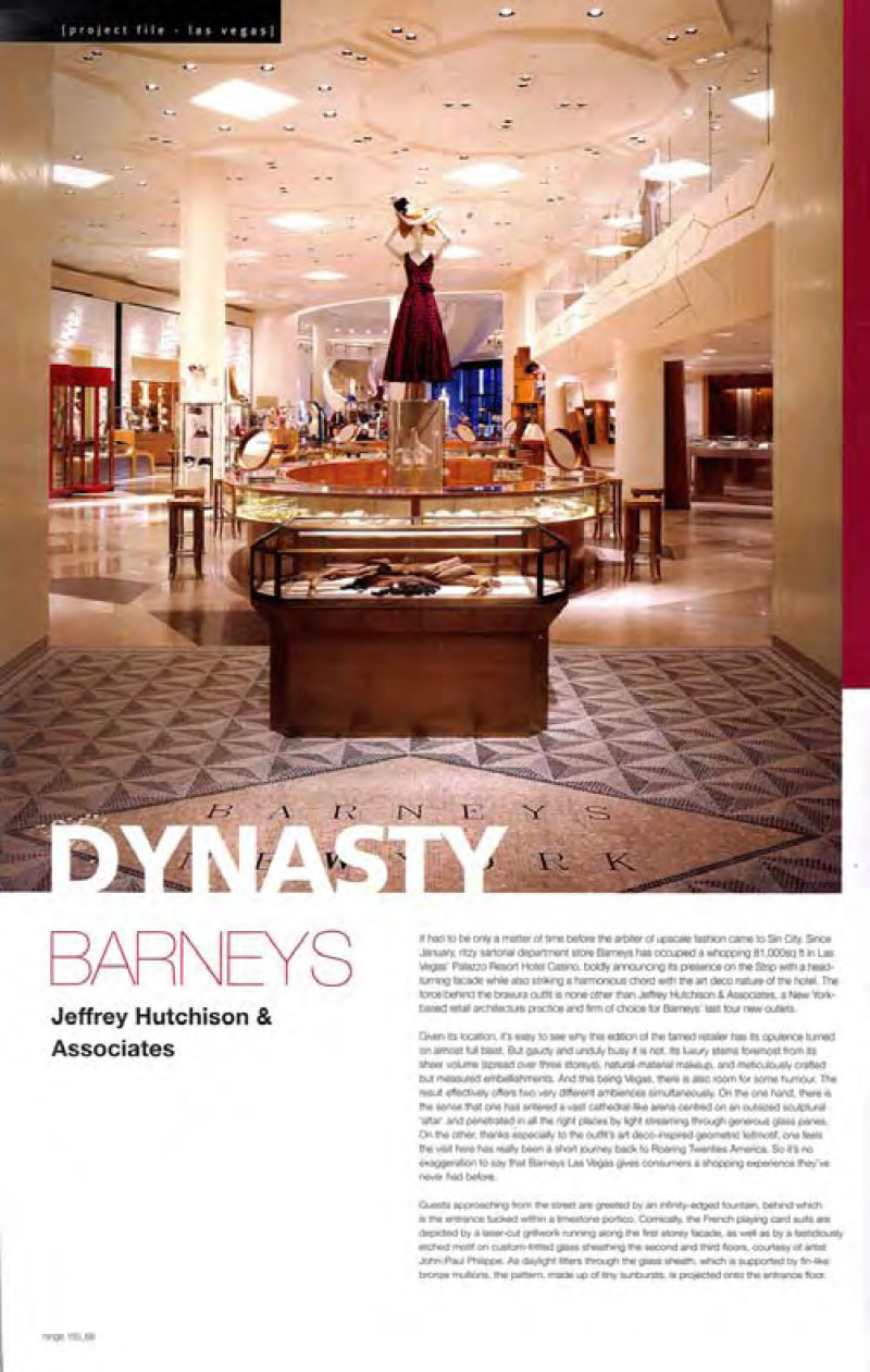 Hinge Magazine Dynasty Barneys