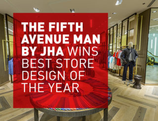 The Fifth Avenue Man by JHA Wins Best Store Design of the Year