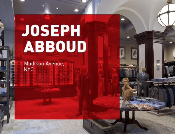 JHA Designs Joseph Abboud's Inaugural Flagship New York City Store