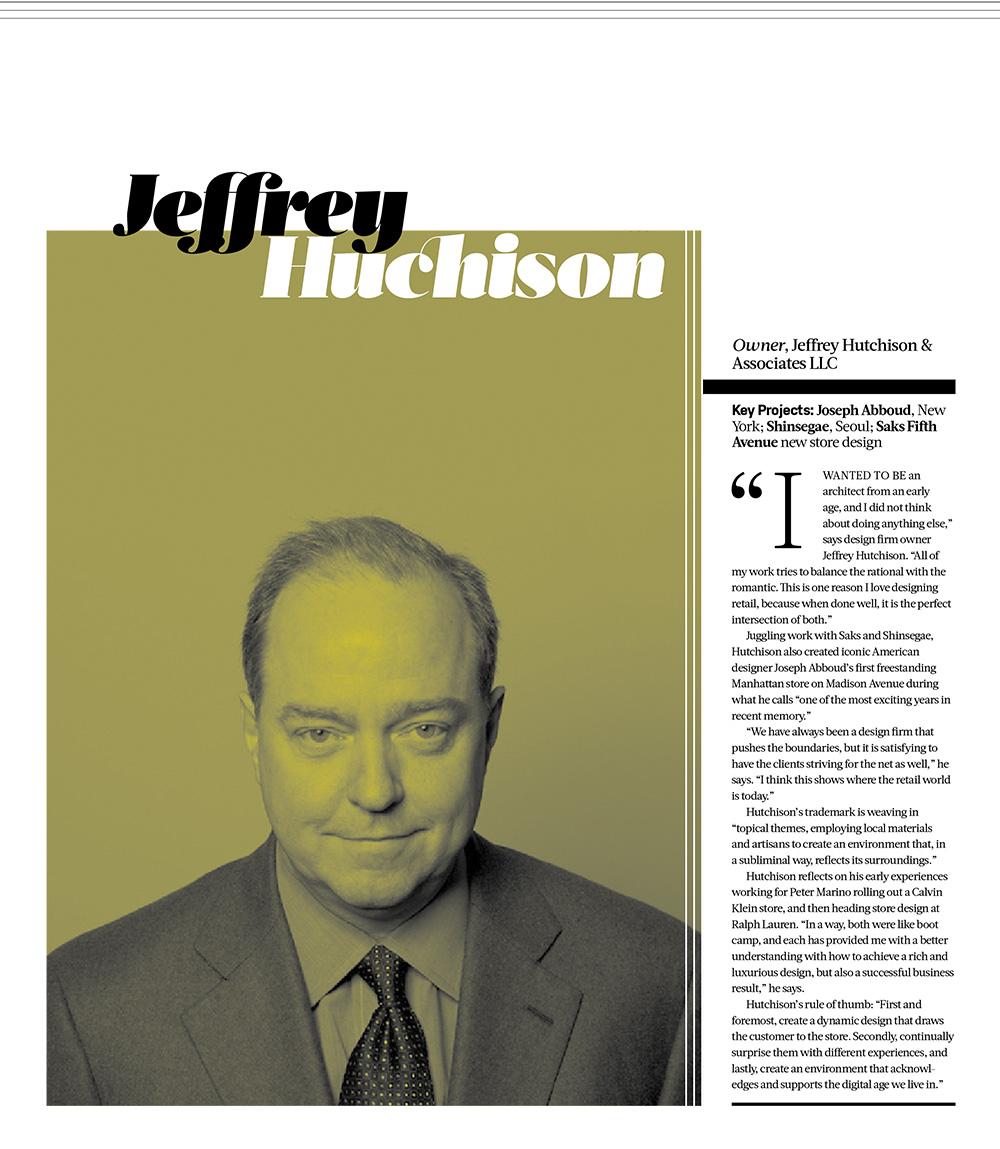 Jeffrey Hutchison - design:retail Awards 2015