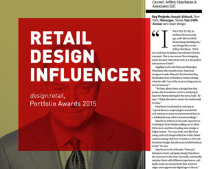 Jeffrey Hutchison: Retail Design Influencer
