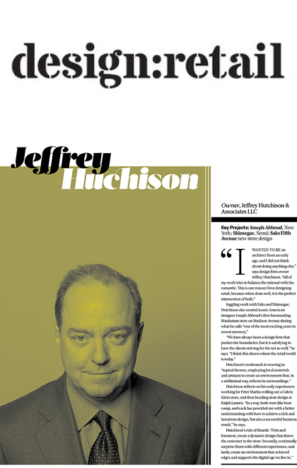 JHA: Press: design:retail