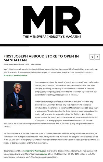 JHA: Press: MR Mag