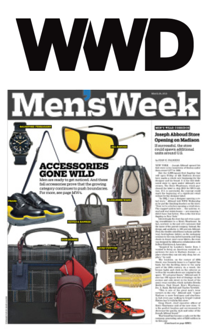 JHA: Press: WWD