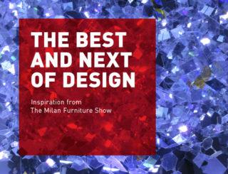 JHA: Inspiration from the Milan Furniture Fair