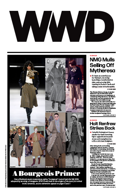 JHA: Press: Holt Renfrew: WWD