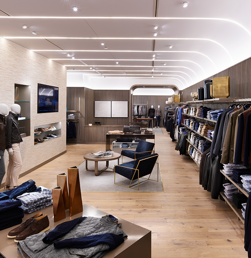 JHA's Store Concept to Guide the Peter Millar Brand for the Next Decade
