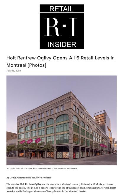 JHA Press: Retail Insider